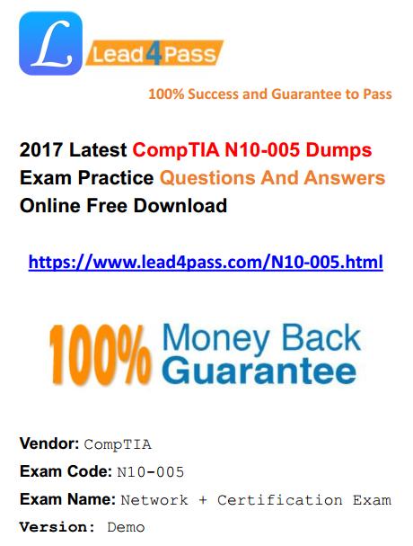 N10-005 dumps