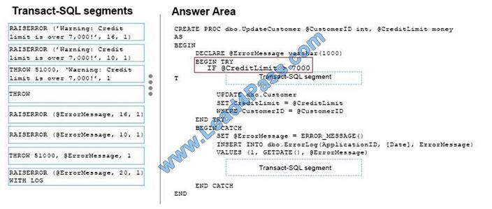 lead4pass 70-761 exam question q10